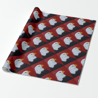 Fire In The Sky Eagle. Wrapping Paper