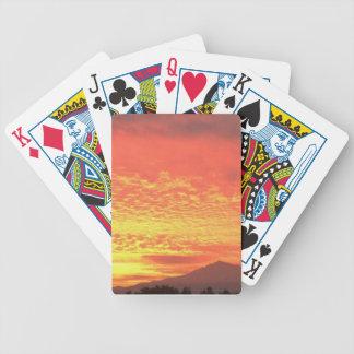 Fire In The Sky Poker Deck
