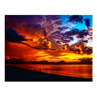 Fire in the Sky Postcard