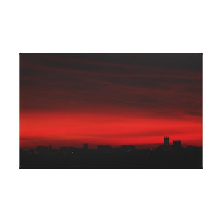 Fire in the Sky - Whole Canvas Print