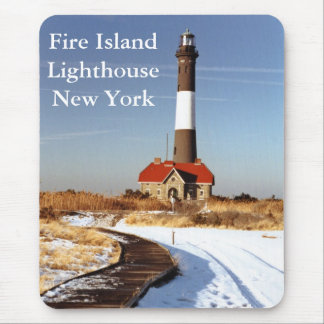Fire Island Lighthouse, New York Mousepad
