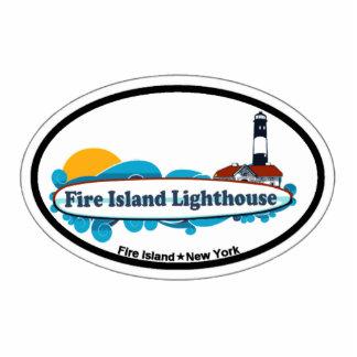 Fire Island Lighthouse. Photo Sculpture Magnet