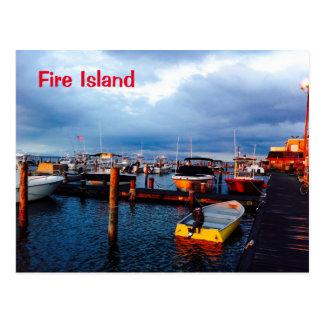 Fire Island Postcard