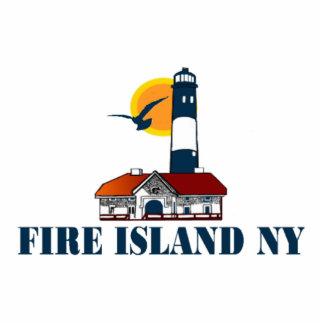 Fire Island. Standing Photo Sculpture