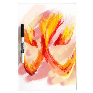 fire [japanese] dry erase board