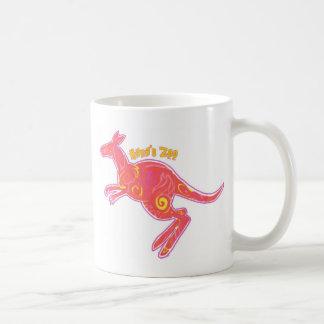 Fire Kangaroo Coffee Mug