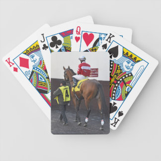 Fire Key Bicycle Playing Cards