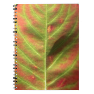 Fire Leaf Notebook