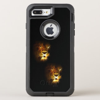 Fire Lion Silhouette, Otterbox Case