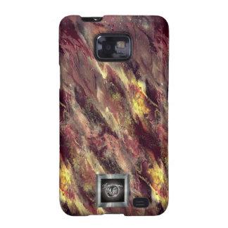 Fire Liquid camo Samsung Galaxy S2 case