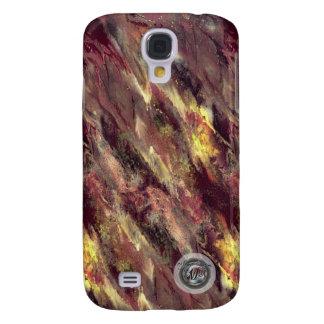 Fire Liquid camo Samsung Galaxy S4 case