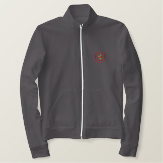 Fire Logo Embroidered Jacket