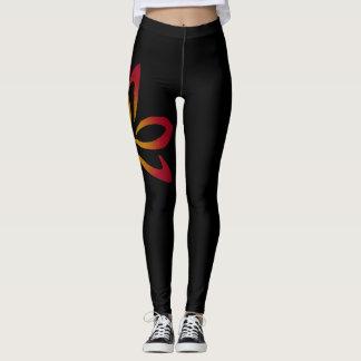 Fire Lotus Fitness Leggings