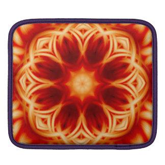 Fire Lotus Mandala iPad Sleeve