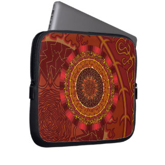 Fire Mandala Laptop Case