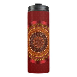 Fire Mandala Thermal Tumbler