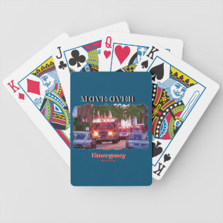Fire_Move_Over. Bicycle Playing Cards