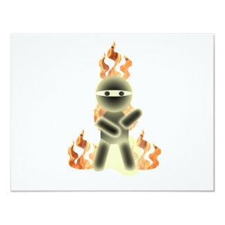 Fire Ninja (by lil kolohe Nick) Card