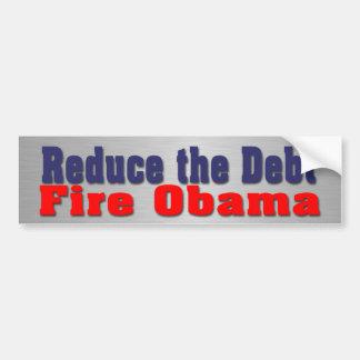 Fire Obama Bumper Sticker