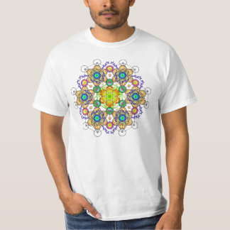 Fire of Creation Mandala 2 T-Shirt