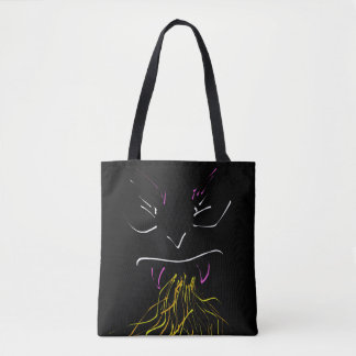 Fire of creature tote bag