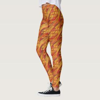 Fire Om Leggings