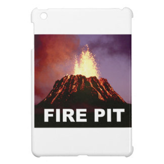 fire pit art iPad mini cover