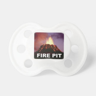 fire pit art pacifier