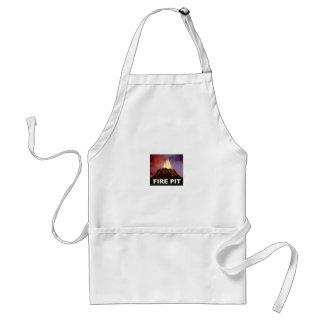 fire pit art standard apron