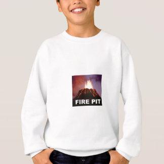 fire pit art sweatshirt
