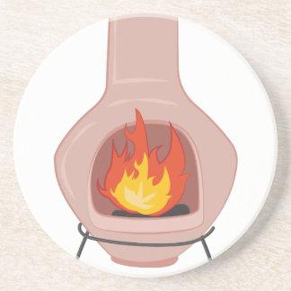 Fire Pit Beverage Coaster