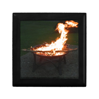 Fire pit bonfire image jewelry boxes