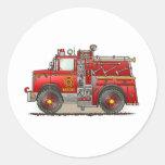 Fire Pumper Rescue Truck Sticker