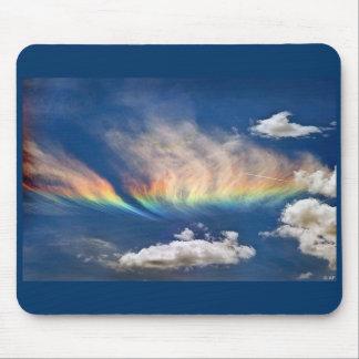Fire Rainbow Mousepad