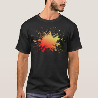 Fire Red Color Explosion. Fresh Ts T-Shirt