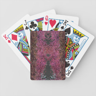 Fire reflections bicycle playing cards