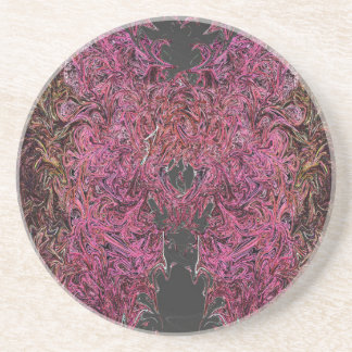 Fire reflections coaster