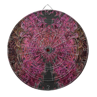 Fire reflections dartboard