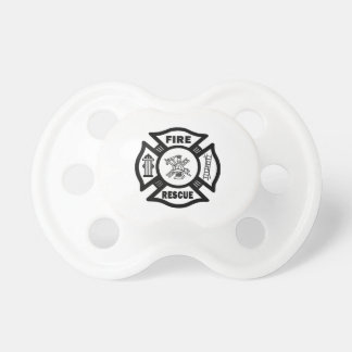 Fire Rescue Baby Pacifier