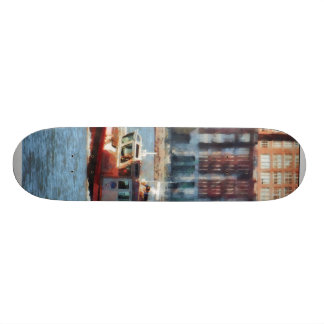 Fire Rescue Boat Hudson River Skate Board Deck