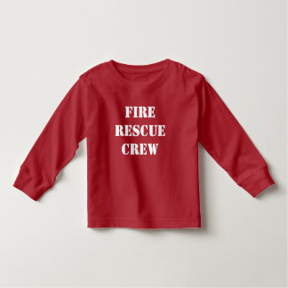 Fire Rescue Crew Toddler T-shirt