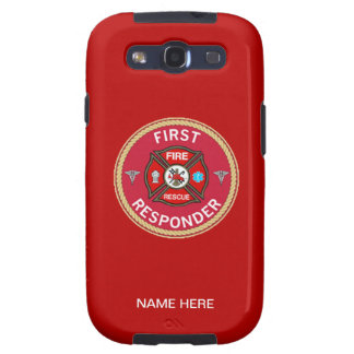 Fire Rescue First Responder Galaxy SIII Cases