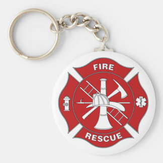 Fire Rescue Keychain