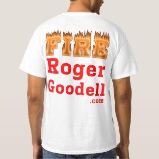 Fire Roger Goodell t-shirt light Style