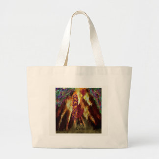Fire Rooster 2017 Large Tote Bag