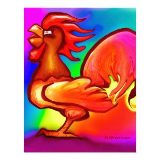 Fire Rooster Letterhead