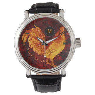 Fire Rooster Year 2017 Monogram Watch