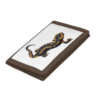 Fire Salamander Nylon Wallet