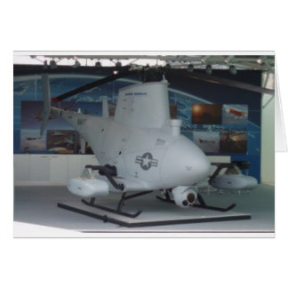 FIRE SCOUT unmanned helicopter Greeting Card