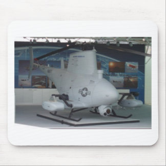 FIRE SCOUT unmanned helicopter Mouse Mat